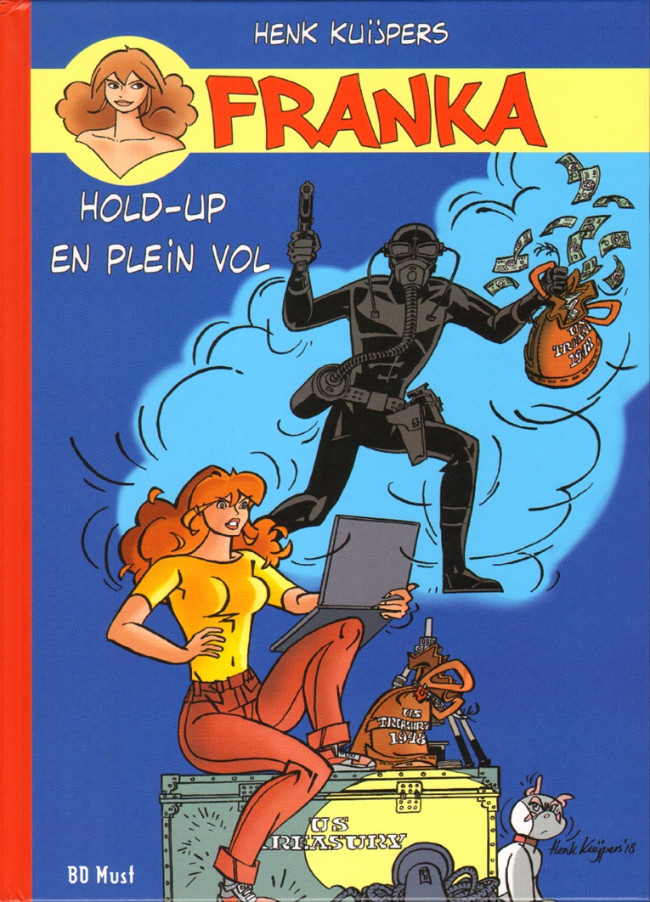 Couverture de Franka (BD Must) -24TT25- Hold-up en plein vol