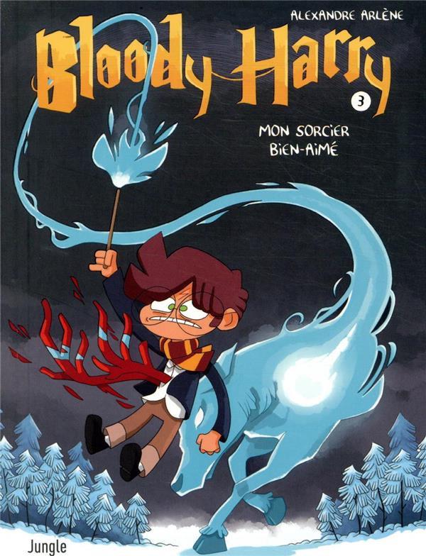 Couverture de Bloody Harry -3- Mon sorcier bien-aimé