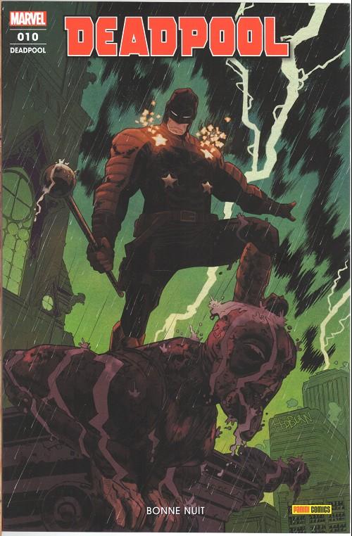 Couverture de Deadpool (Marvel France 6e série - 2019)  -10- Bonne nuit
