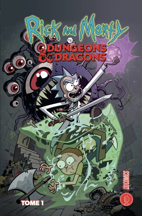 Couverture de Rick and Morty vs. Dungeons & Dragons