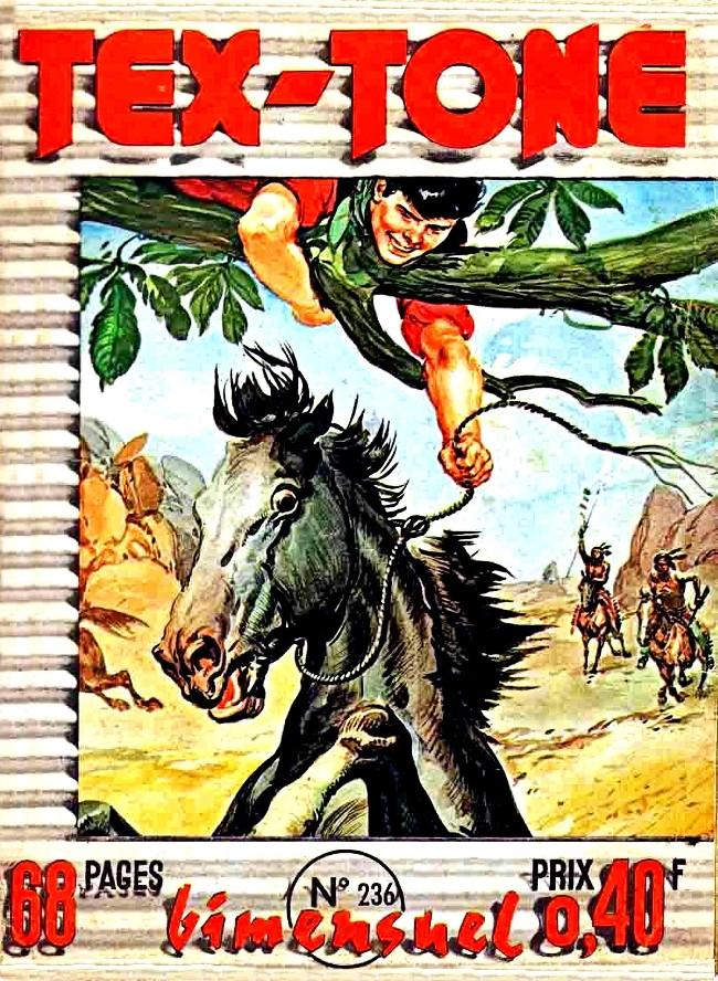 Couverture de Tex-Tone -236- L'U.S. Marshall