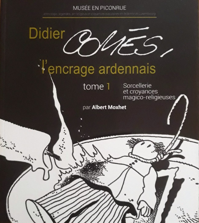 Couverture de (AUT) Comès -5- L'encrage ardennais tome 1 : Sorcellerie et croyances magico-religieuses