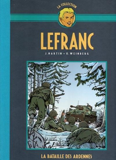 Couverture de Lefranc - La Collection (Hachette) -VI- La bataille des ardennes