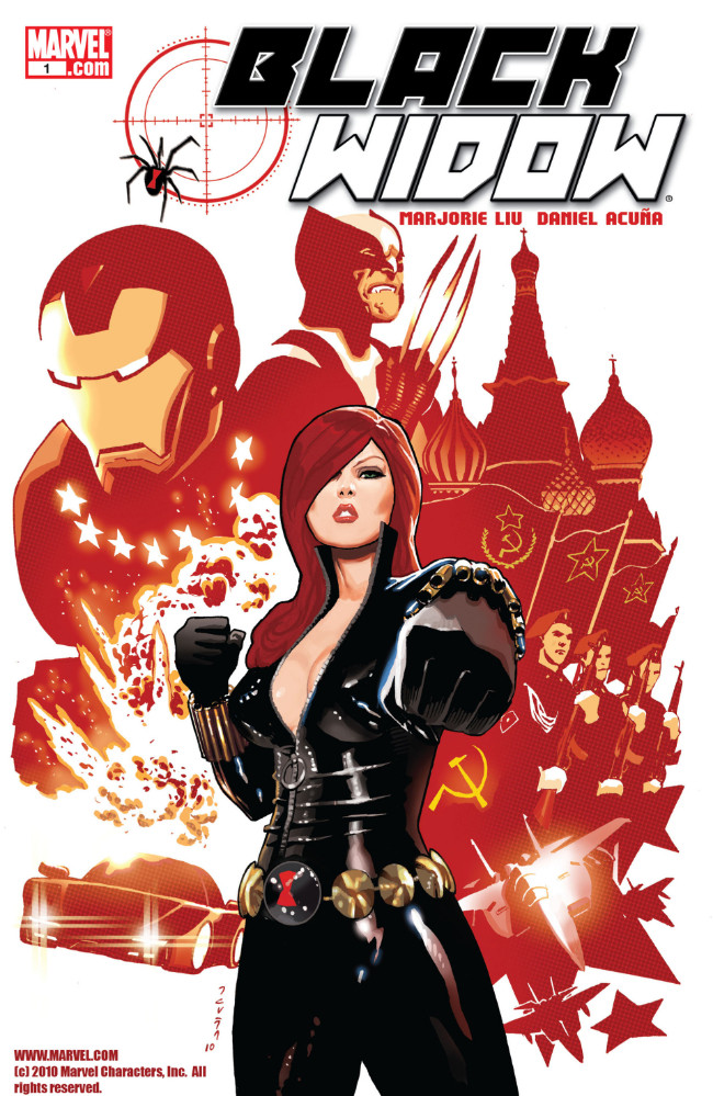 Couverture de Black Widow Vol. 4 (Marvel - 2010) -1- The Name of the Rose, Part One