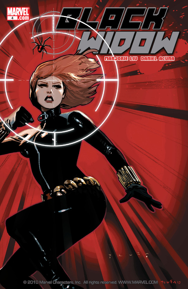 Couverture de Black Widow Vol. 4 (Marvel - 2010) -4- The Name of the Rose, Part 4