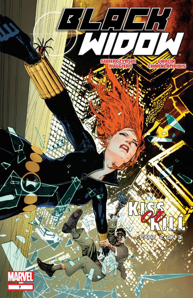 Couverture de Black Widow Vol. 4 (Marvel - 2010) -7- Kiss Or Kill, Part 2