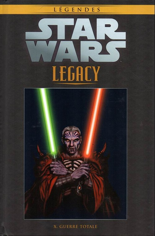 Couverture de Star Wars - Légendes - La Collection (Hachette) -10294- Star wars - legacy - x. guerre totale