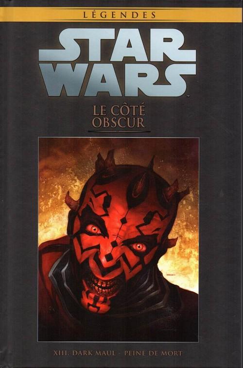 Couverture de Star Wars - Légendes - La Collection (Hachette) -103XIII- Le Côté Obscur - XIII. Darl Maul - Peine de mort