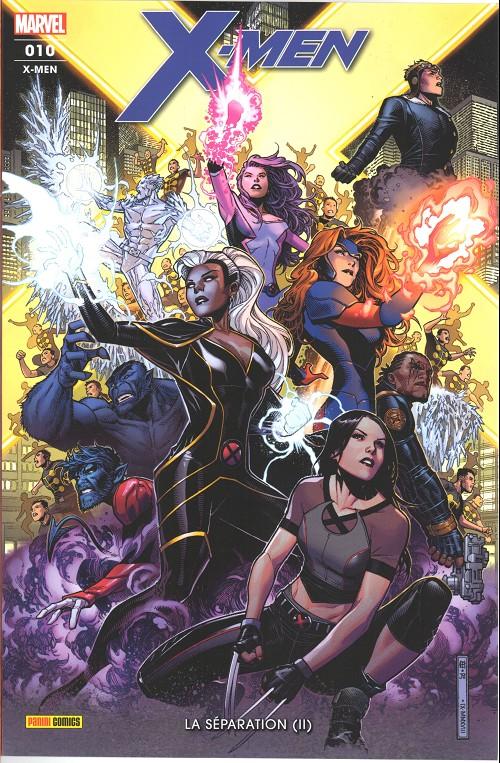 Couverture de X-Men (Marvel France 6e série - 2019) -10- La Séparation (II)
