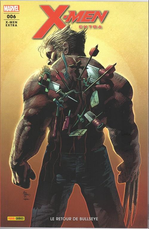 Couverture de X-Men Extra (2e série) -6- Le retouyr de Bullseye