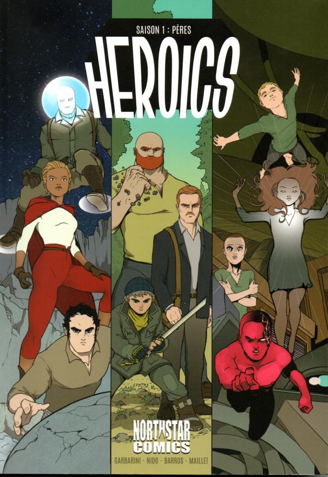 Couverture de Heroics -1- Saison 1 : Pères