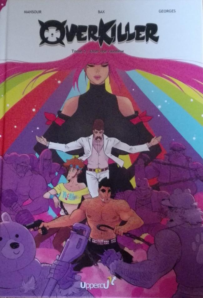 Couverture de OverKiller -2- Over the rainbow