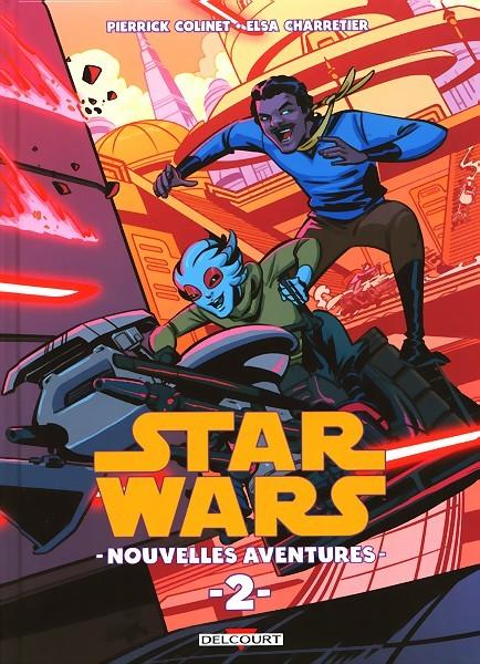 Couverture de Star Wars - Nouvelles aventures -2- Tome 2