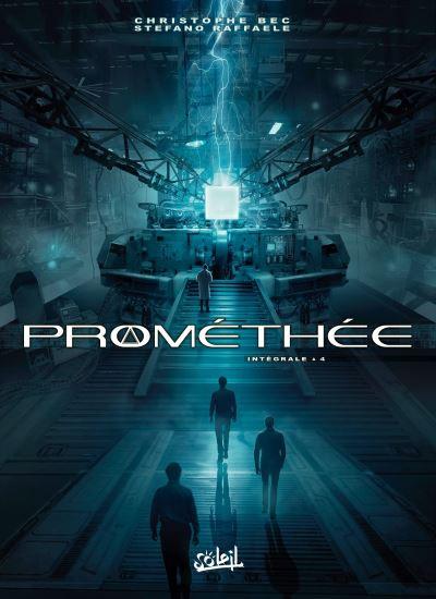 Couverture de Prométhée -INT4- Intégrale 4