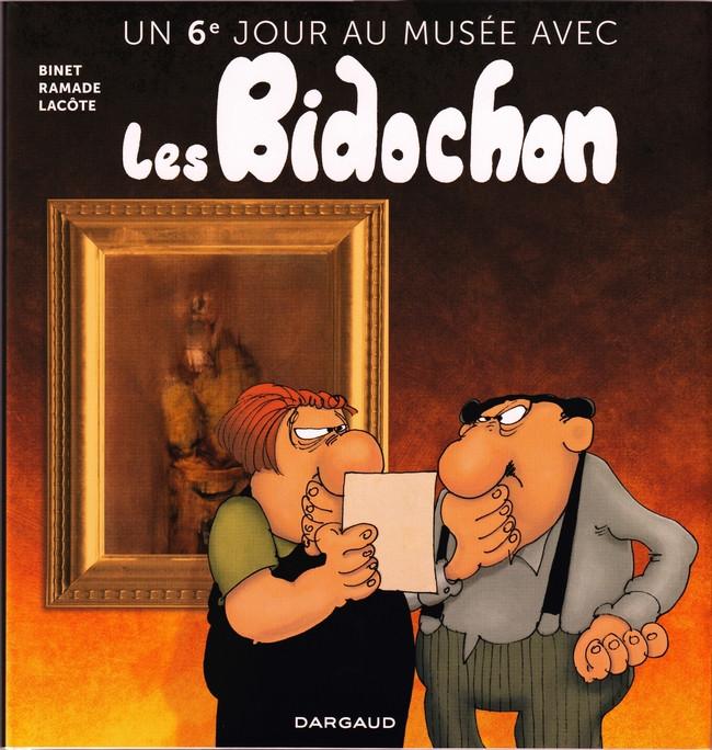 Couverture de Les bidochon -HS13- Un 6ème jour au musée avec les Bidochons