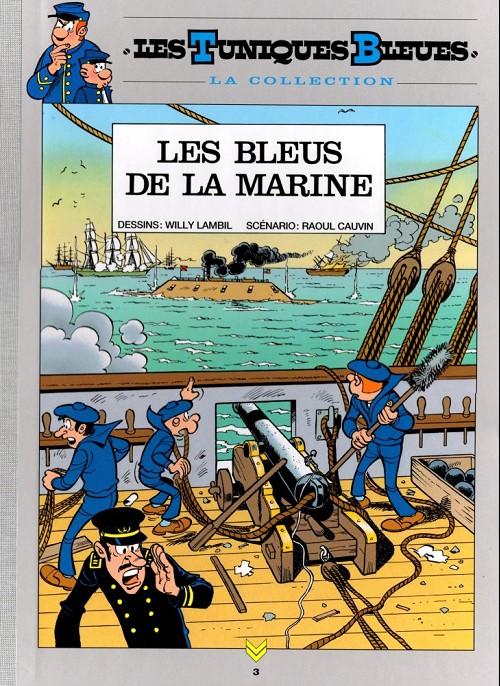 Couverture de Les tuniques Bleues - La Collection (Hachette, 2e série) -307- Les bleus de la marine