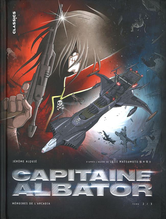 Couverture de Capitaine Albator - Mémoires de l'Arcadia -2- Les ténèbres abyssales de l'âme