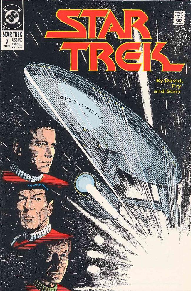 Couverture de Star Trek (1989) (DC comics) -7- Not... Sweeney!