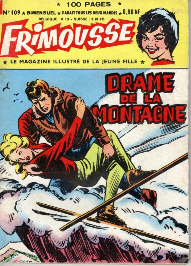 Couverture de Frimousse et Frimousse-Capucine -109- Drame de la montagne