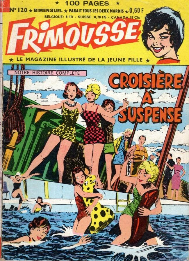 Couverture de Frimousse et Frimousse-Capucine -120- Croisière à suspense