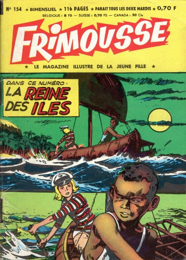 Couverture de Frimousse et Frimousse-Capucine -154- La reine des îles