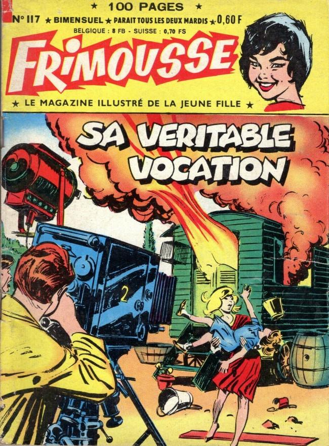 Couverture de Frimousse et Frimousse-Capucine -117- Sa véritable vocation