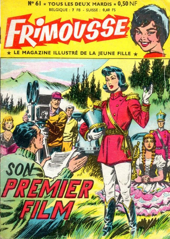 Couverture de Frimousse et Frimousse-Capucine -61- Son premier film