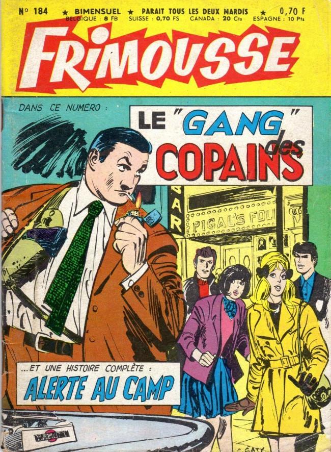 Couverture de Frimousse et Frimousse-Capucine -184- Le gang des copains