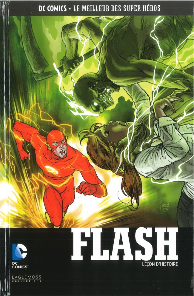 Couverture de DC Comics - Le Meilleur des Super-Héros -107- Flash - Leçon d'Histoire