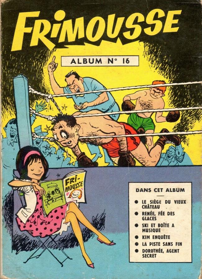 Couverture de Frimousse et Frimousse-Capucine -Rec16- Album N°16 (du n°83 au n°88)