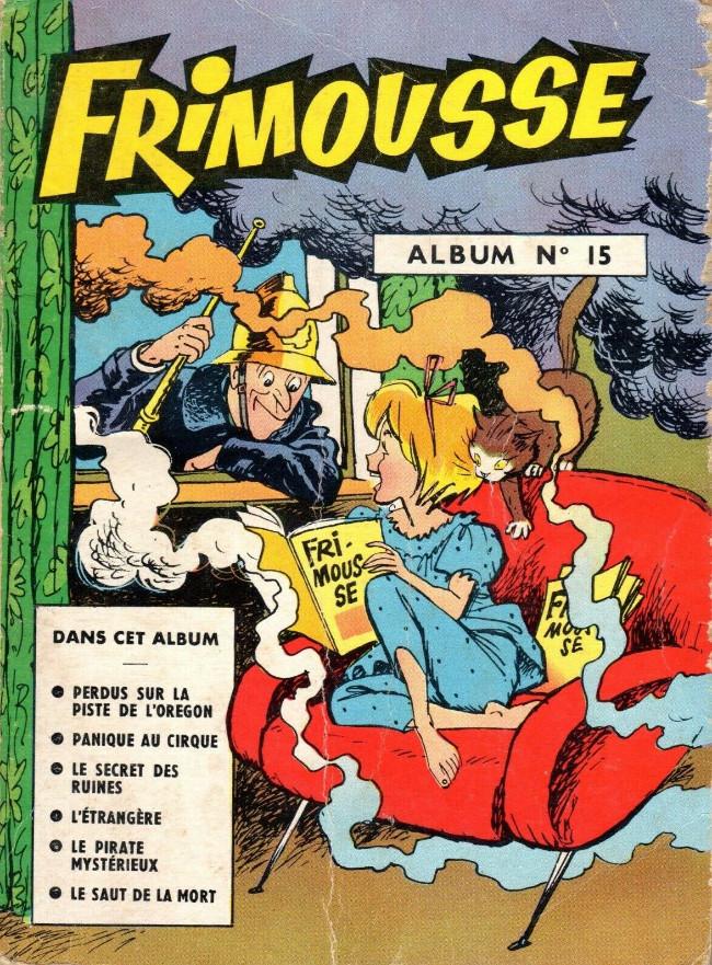 Couverture de Frimousse et Frimousse-Capucine -Rec15- Album N°15 (du n°77 au n°82)