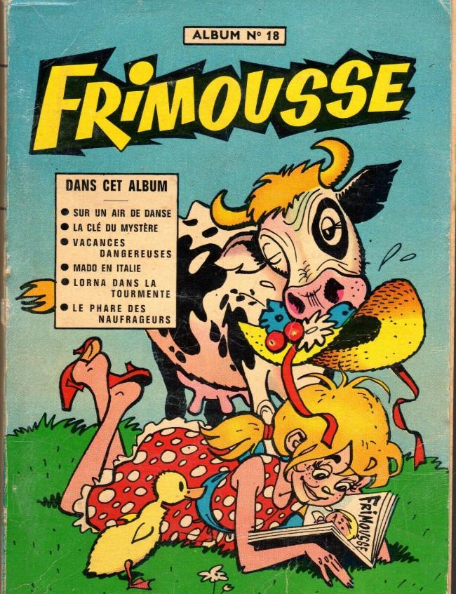 Couverture de Frimousse et Frimousse-Capucine -Rec18- Album N°18 (du n°95 au n°100)