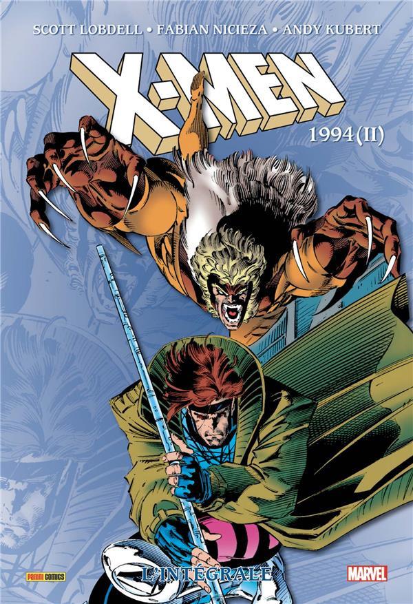 Couverture de X-Men (L'intégrale) -38- 1994 (II)