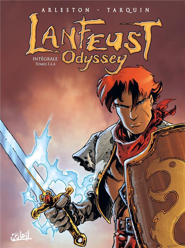 Couverture de Lanfeust Odyssey -INT1- Intégrale Tomes 1 à 4