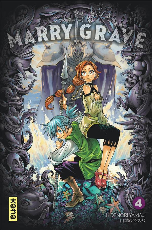 Couverture de Marry Grave -4- Tome 4