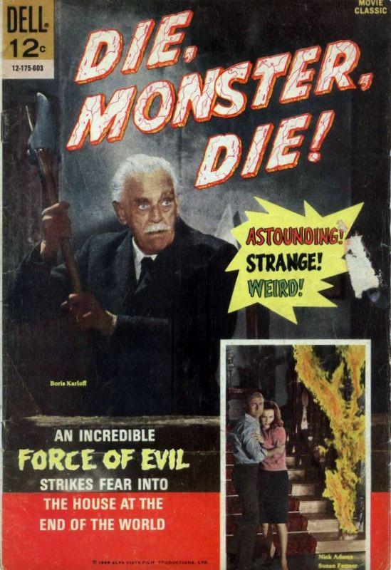 Couverture de Movie Classics (Dell - 1962) -175- Die, Monster, Die