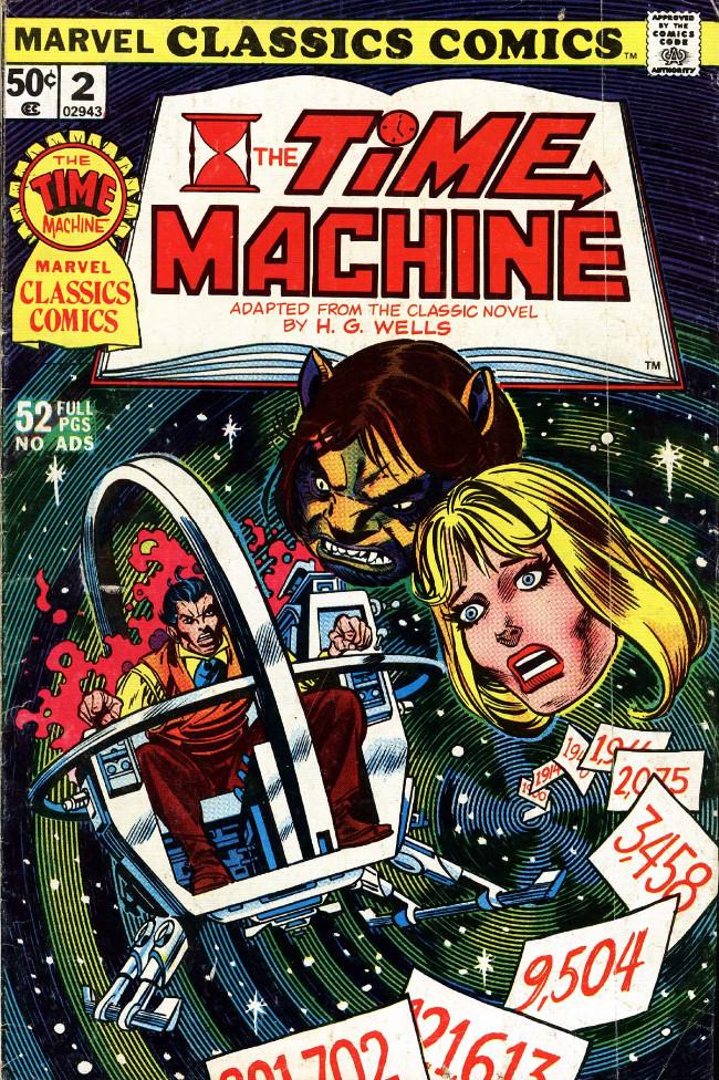 Couverture de Marvel Classics Comics (Marvel - 1976) -2- The Time Machine