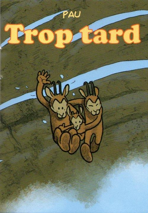 Couverture de Mini-récits et stripbooks Spirou -MR4258- Trop tard