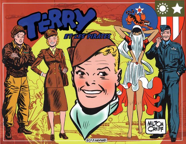 Couverture de Terry et les pirates (BDArtist(e)) -5- Volume 5 : 1943 à 1944