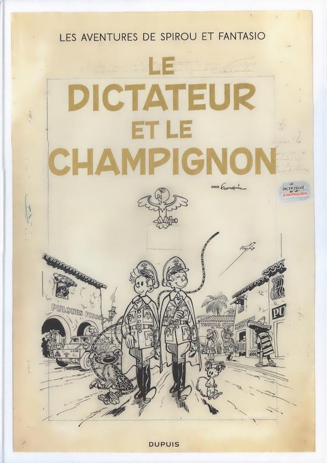 Couverture de Spirou et Fantasio (L'intégrale Version Originale) -10- Le dictateur et le champignon