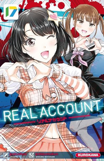 Couverture de Real Account -17- Tome 17