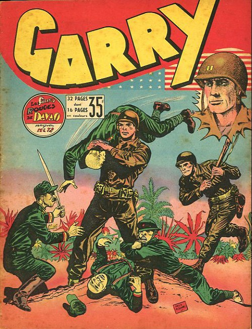 Couverture de Garry (sergent) (Imperia) (1re série grand format - 1 à 189) -72- Les pirates rouges de davao