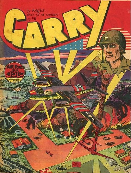 Couverture de Garry (sergent) (Imperia) (1re série grand format - 1 à 189) -75- Air force sur