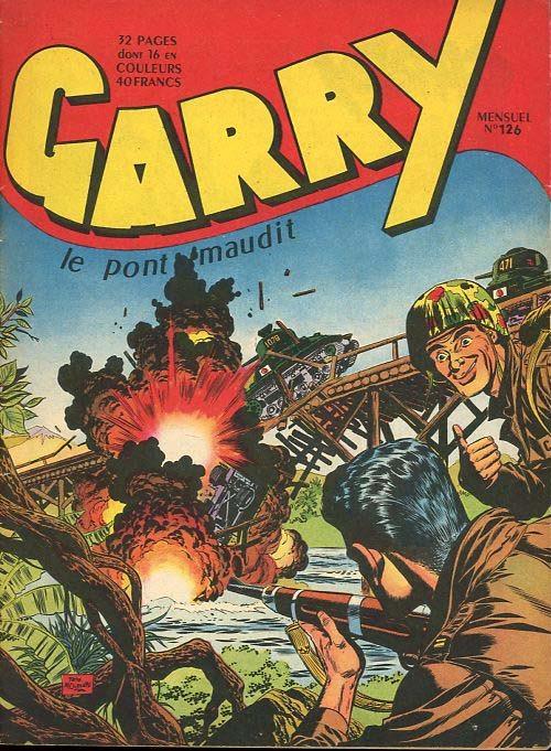 Couverture de Garry (sergent) (Imperia) (1re série grand format - 1 à 189) -126- Le pont maudit
