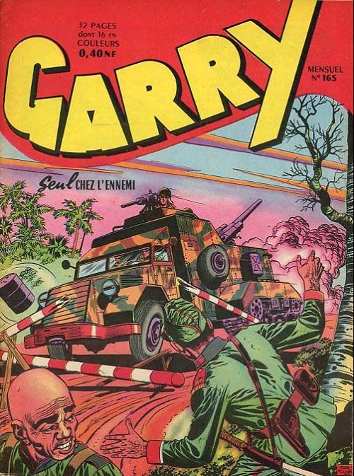 Couverture de Garry (sergent) (Imperia) (1re série grand format - 1 à 189) -165- Seul chez l'ennemi