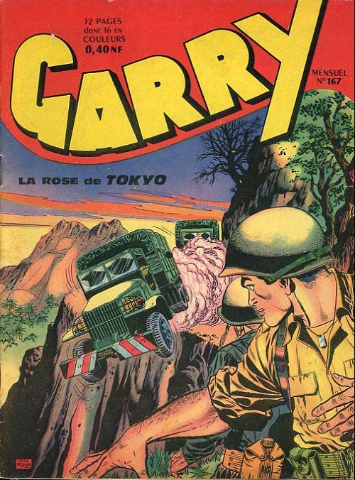 Couverture de Garry (sergent) (Imperia) (1re série grand format - 1 à 189) -167- La rose de tokyo