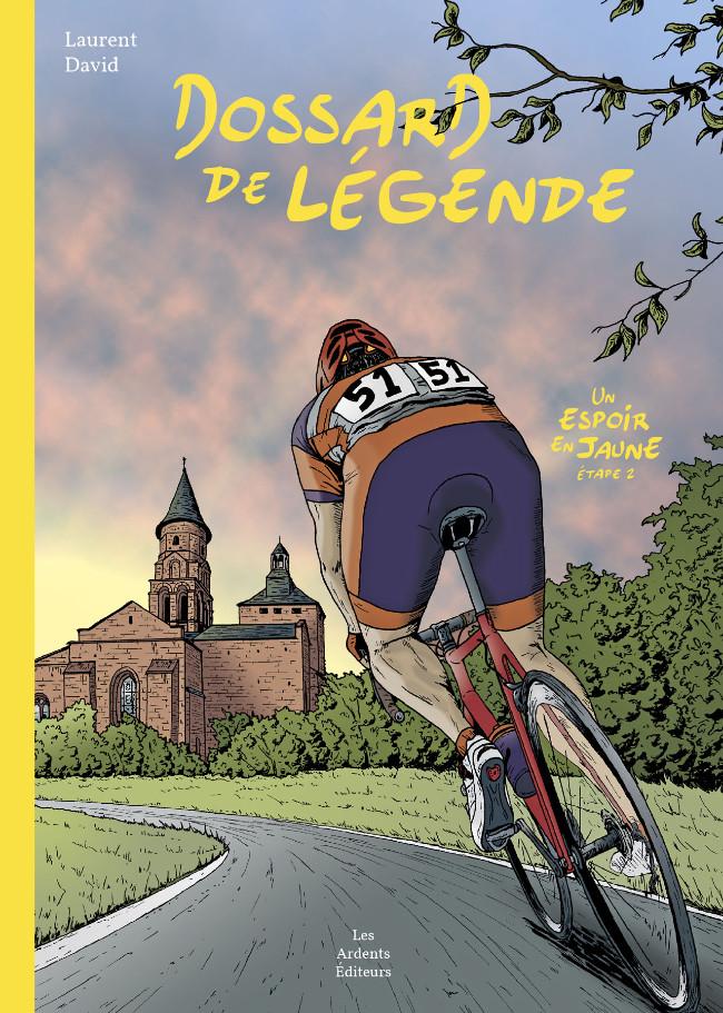 Couverture de Un espoir en jaune -2- Dossard de Légende