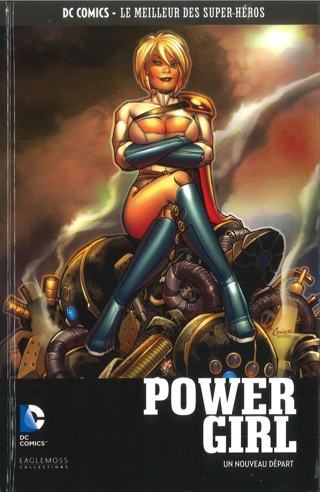 Couverture de DC Comics - Le Meilleur des Super-Héros -108- Power Girl - Un Nouveau Départ