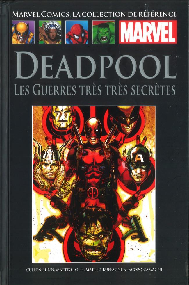 Couverture de Marvel Comics - La collection (Hachette) -145104- Deadpool - Les Guerres très très Secrètes