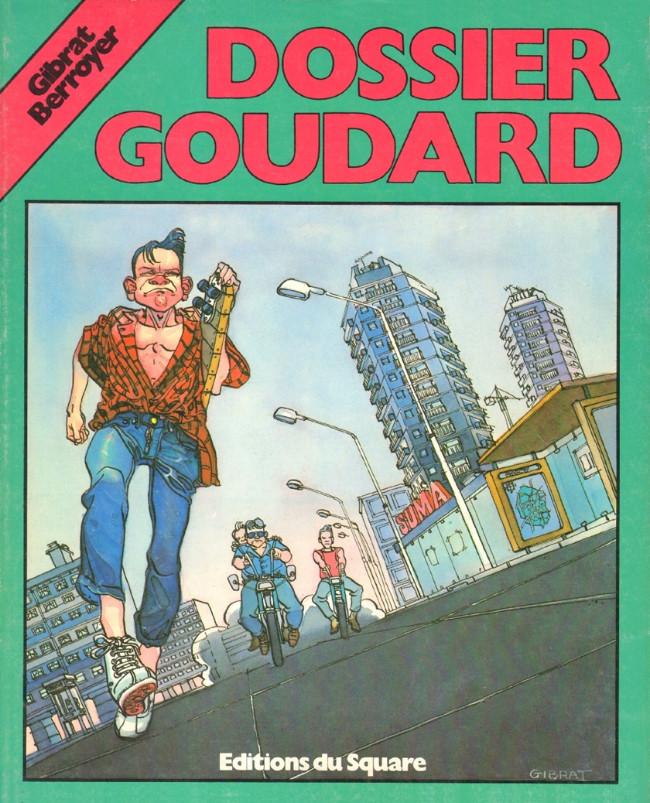 Couverture de Goudard -1- Dossier Goudard